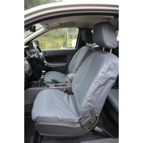 Ford Ranger (2012 to current) Double Cab Front and Rear Seats Seat Covers