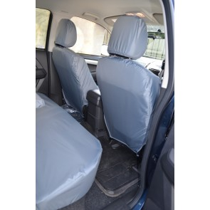 Isuzu D-Max (2012 to current) Front Pair Single Seats Seat Covers