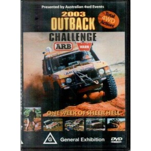 Outback Challenge 2003 Dvd