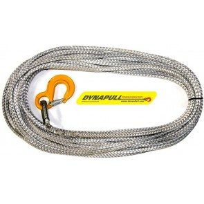 Dynapull 12mm x 100ft (30m) Winch Rope For Most Winches - Graphite