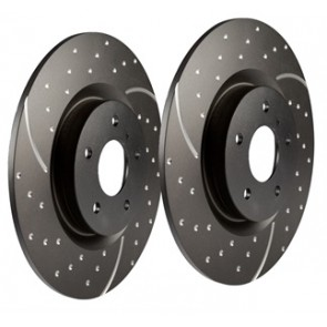 EBC Performance Brake Discs suits Freelander 1 - 1996 from 1A000001