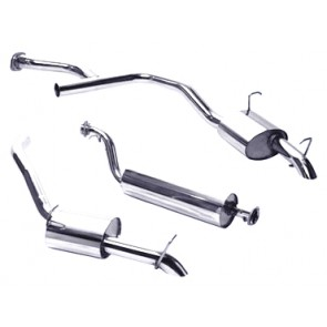 Exhaust Range Rover P38 - 4.0 / 4.6 twin tailpipe