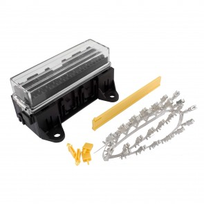 16 Way Standard Blade Fuse Holder