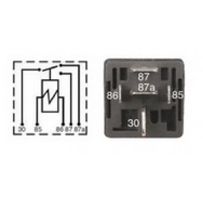 Relay - 6.3mm / 9.5mm Terminal Standard 5 Pin Relay