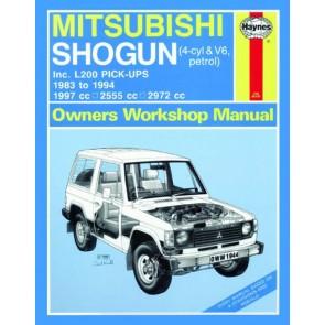 Haynes Workshop Manual for Shogun