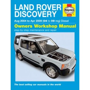 Haynes Land Rover Discovery 3 Diesel (Aug 04 - Apr 09)