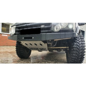 D44 Discovery 2 Heavy Duty Winch Bumper With Washer Bottle