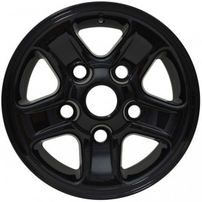 "Defender 16x7"" Boost Alloy Wheel - Black LR023391BLK"