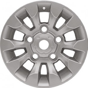 Defender 16x7 Sawtooth Alloy Wheel - Silver LR025862NHM