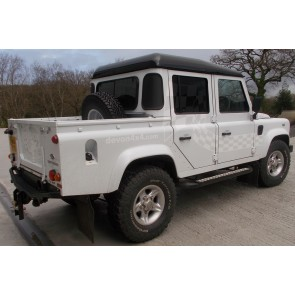 Defender 110 5 Door Side Steps 2003 On