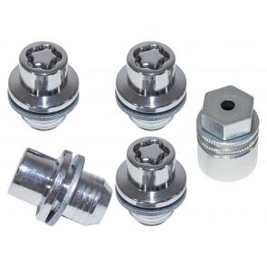Discovery 3, 4 & 5, RR Sport, RR L322 & L405 Locking Wheel Nut Set x 4 LR078545