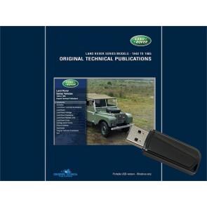 Series Models - 1948 - 1985 Original Technical Publication USB