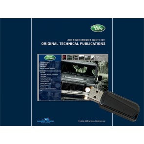 Defender Military Original Technical Publication USB