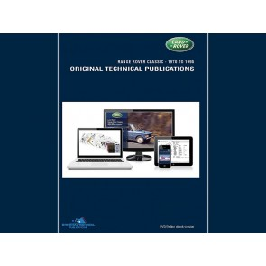 Defender Military Original Technical Publication DVD