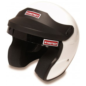 Pyrotect Open faced helmet - XS White