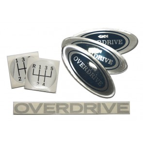 Overdrive Badge Set