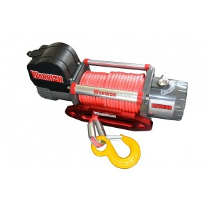 Warrior S8000 Samurai Winch with Synthetic Rope 12v