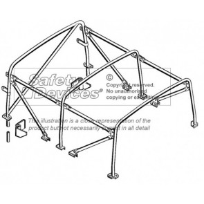 Safety Devices Defender 110 Soft Top Internal Roll Cage
