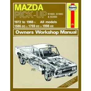 Haynes Workshop Manual for Mazda Pick Up