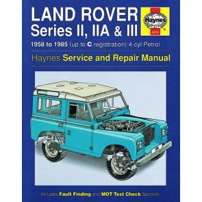 Haynes Service & Repair Manual for Series