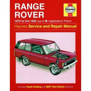 Haynes Workshop Manual for Range Rover