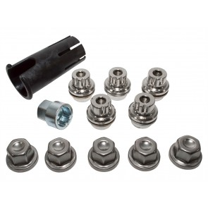 Discovery 2 Locking Wheel Nut Alloy x 5 RRB100510SET