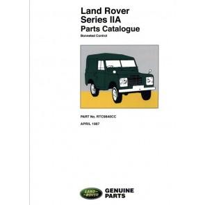 Series 2A - Bonneted Control Parts Catalogue RTC9840CC