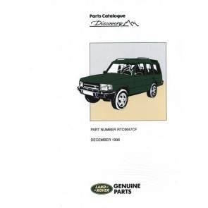 Discovery 1 - 1989 - 1998 Parts Catalogue RTC9947CF
