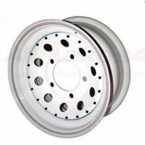 8x15 White Modular Wheel