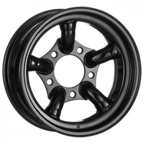 Challenger Steel Wheel 8x16 Gloss Black