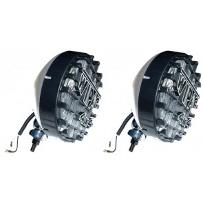 """Wipac 8"""" Driving / Spot Lights - Stainless"""