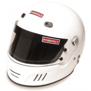 Full faced helmet - Large White