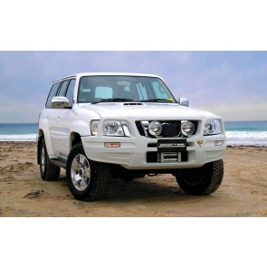 ARB Smart Bar Winch Bumper Nissan Patrol Y61 Series 4 3.0L TD & 4.8L Petrol Wagon & Ute 08/2007 On Black