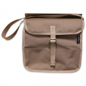 Small Canvas Grab Satchel – Sand