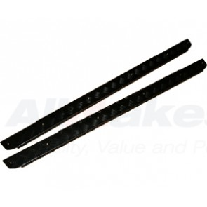 Mammouth 3mm Premium side sill protectors for Defender 90 1983 on (black powder coated)