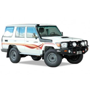 Safari Toyota 76, 78 & 79 Series Wide Front Landcruiser 07 Onwards 4.2L Diesel 1HZ Snorkel