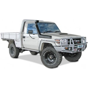 Safari Toyota 71, 73, 75, 76, 78 & 79 Series Wide Front Landcruiser 07 On 4.5L Diesel 1VD-FTV Snorkel
