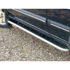 Discovery 2 Stainless Side Step Kit With Mud Flap STC50032