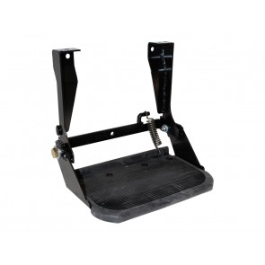 Defender Folding Side Step With Rubber Top STC7631