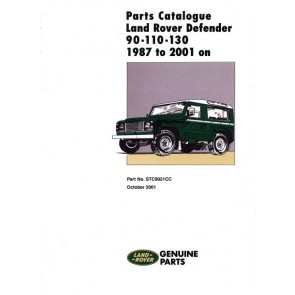 Defender 90 / 110 / 130 1987 - 2006 Parts Catalogue STC9021CC