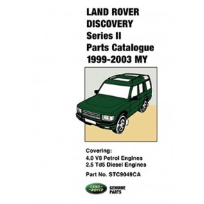 Discovery 2 - 1999 - 2003 Parts Catalogue STC9049CA