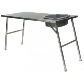 Front Runner Stainless Steel Prep Table With Basin