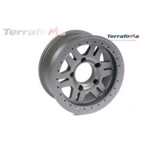 Terrafirma Alloy Beadlock Wheel 5x165 PCD Anthracite