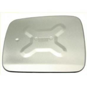 Terrafirma Jeep Renegade Fuel Filler Flap Cover - Silver