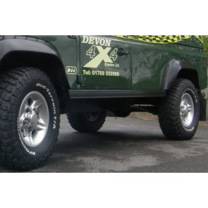 Defender 110 Rock Slider Set - Terrafirma