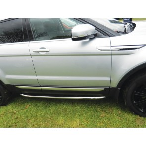 Range Rover Evoque Side Protection Tube Set Stainless