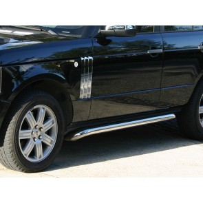 Range Rover L322 02-12 Protection Side Tube Set Stainless