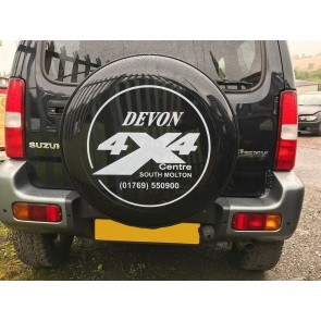 Devon 4x4 Spare Wheel Cover -195/80/15