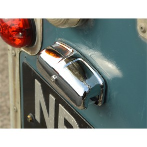 XFC100550CH Defender /  Series Chrome Number Plate Light