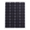 80w 12v Solar Panel with 5m Cable for Expedition, Overlanding, Caravans, Motorhomes and Boats